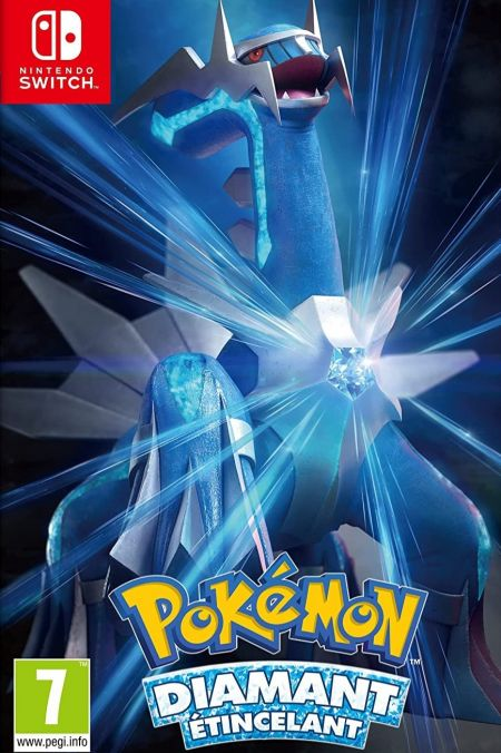 Echanger le jeu Pokemon Diamant Etincelant sur Switch