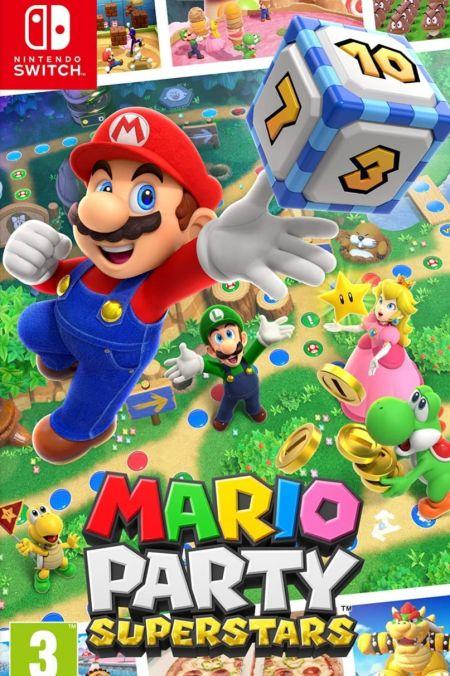 Echanger le jeu Mario Party Superstars sur Switch