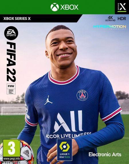 Echanger le jeu FIFA 22 sur XBOX SERIES X