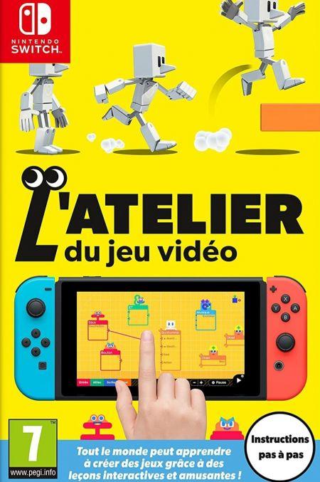 Echanger le jeu L'Atelier du Jeu Video sur Switch
