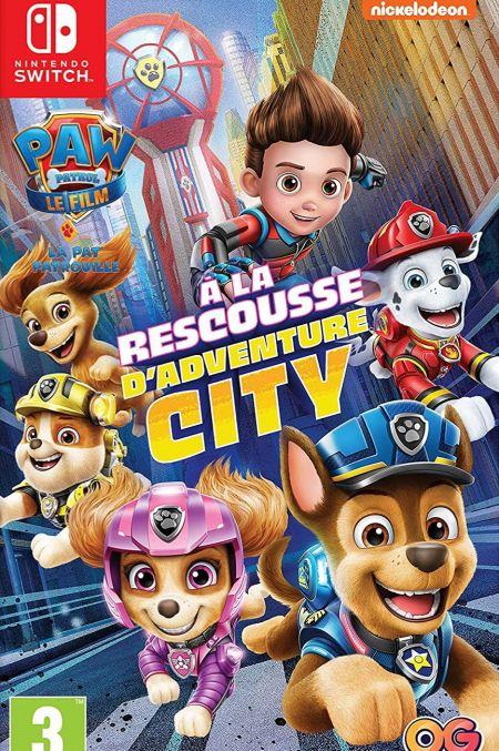 Echanger le jeu Pat' Patrouille - A la Rescousse d'Adventure City sur Switch