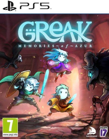 Echanger le jeu Greak: Memories Of Azur sur PS5