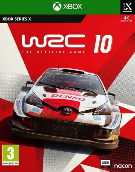 Echanger le jeu WRC 10 sur XBOX SERIES X