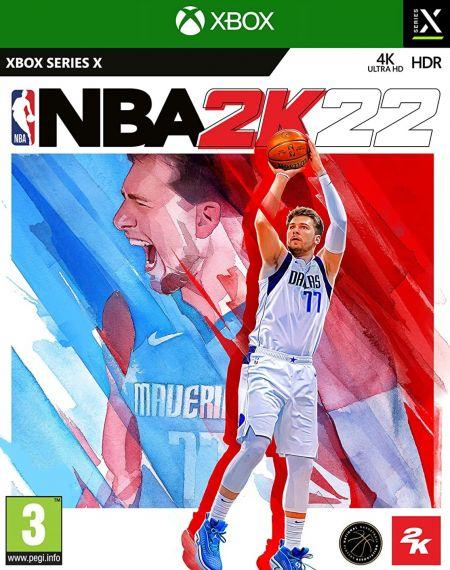 Echanger le jeu NBA 2K22 sur XBOX SERIES X