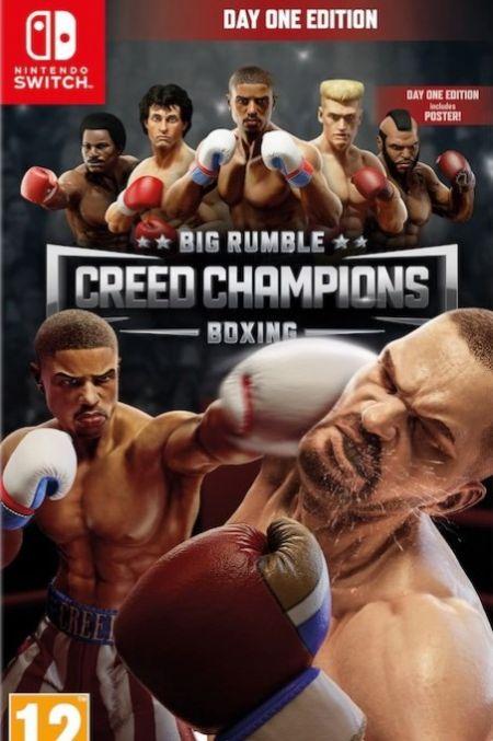 Echanger le jeu Big Rumble : Creed Champions Boxing sur Switch