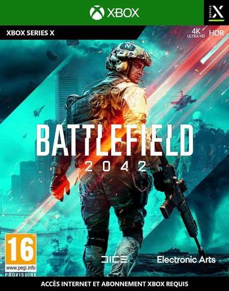 Echanger le jeu Battlefield 2042 (Internet Requis) sur XBOX SERIES X