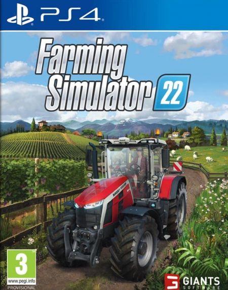 Echanger le jeu Farming Simulator 22 sur PS4