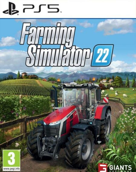 Echanger le jeu Farming Simulator 22 sur PS5