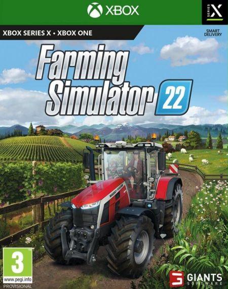 Echanger le jeu Farming Simulator 22 sur Xbox One