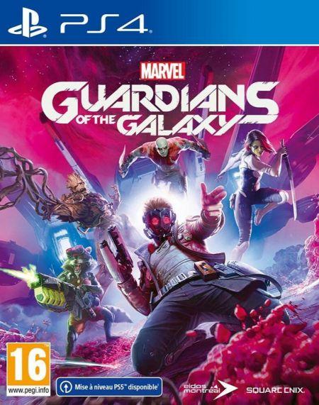 Echanger le jeu Marvel Guardians Of The Galaxy sur PS4