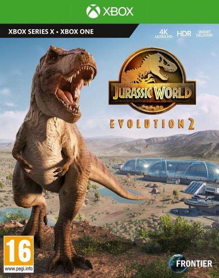 Echanger le jeu Jurassic World Evolution 2 sur Xbox One