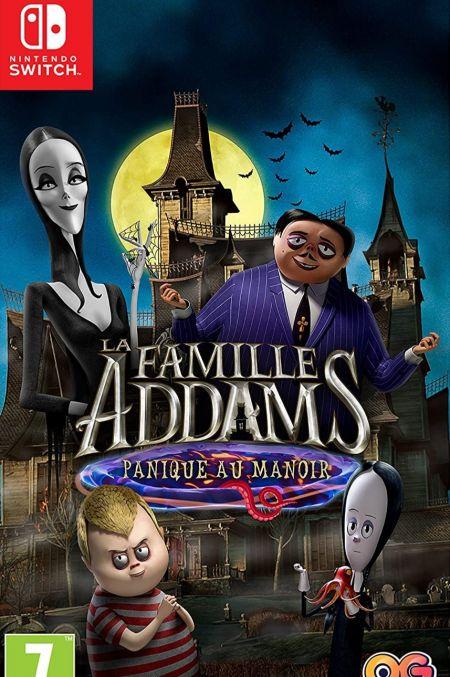 Echanger le jeu La Famille Addams - Panique au manoir sur Switch
