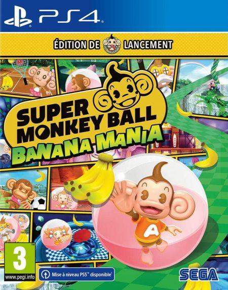 Echanger le jeu Super Monkey Ball Banana Mania sur PS4