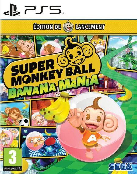 Echanger le jeu Super Monkey Ball Banana Mania sur PS5