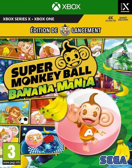 Echanger le jeu Super Monkey Ball Banana Mania sur Xbox One