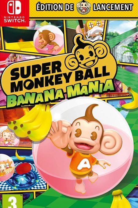 Echanger le jeu Super Monkey Ball Banana Mania sur Switch