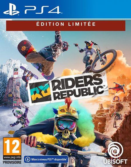 Echanger le jeu Riders Republic (Internet Requis) sur PS4