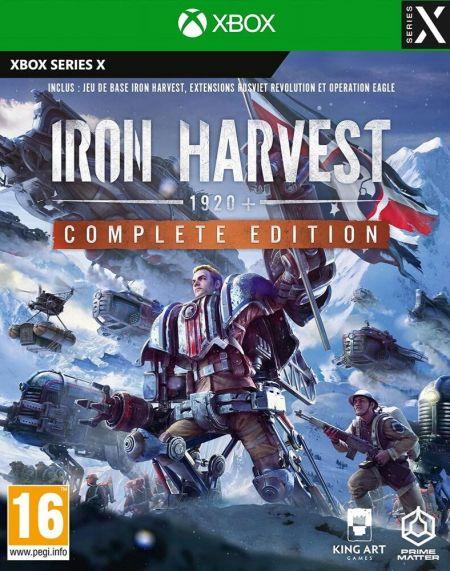 Echanger le jeu Iron Harvest 1920+ sur XBOX SERIES X
