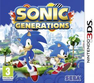 Echanger le jeu Sonic Generations sur 3DS