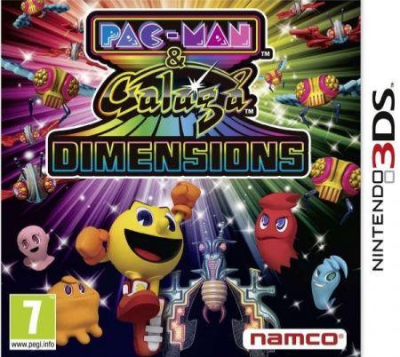 Echanger le jeu Pac-Man & Galaga Dimensions sur 3DS