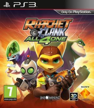 Echanger le jeu Ratchet & Clank: All 4 one sur PS3
