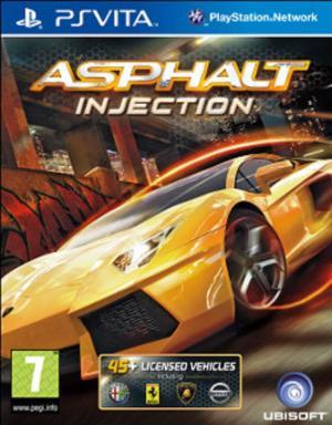 Echanger le jeu Asphalt Injection  sur PS Vita