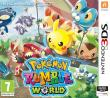 Pokemon Rumble WorldLe roi des Mii n'est pas content car le sorcier du royaume voisin a plus de pokemons que lui. C'est donc à votre Mii que revient la tache de récolte