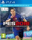 Echanger le jeu PES 2018 sur PS4
