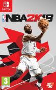 Echanger le jeu NBA 2K18 sur Switch