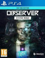 Echanger le jeu The Observer : System Redux sur PS4